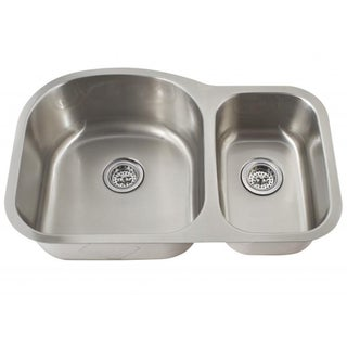 Schon Undermount 16-Gauge Stainless Steel 70/30 Sink Kitchen Sink