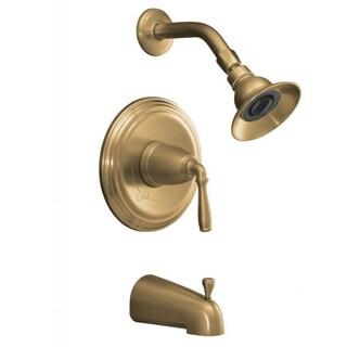 Kohler Devonshire Rite-Temp Brushed Bronze Bath and Shower Trim