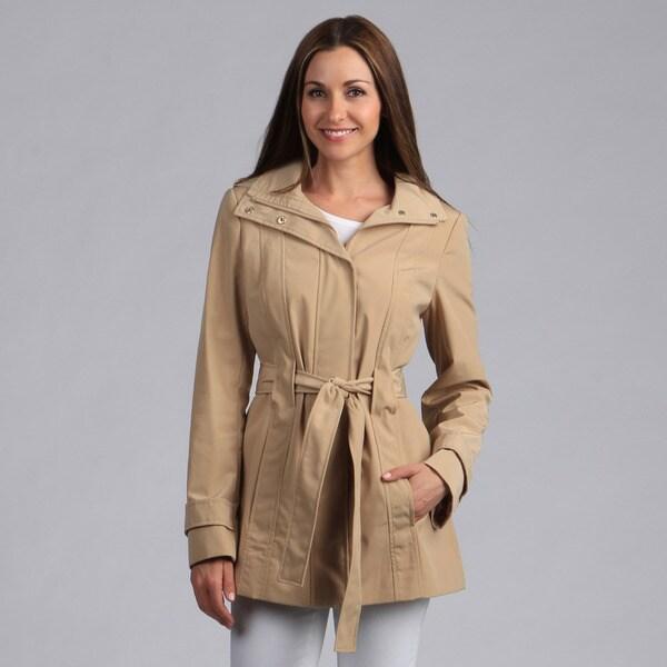 Calvin Klein Women's Belted Trench Jacket