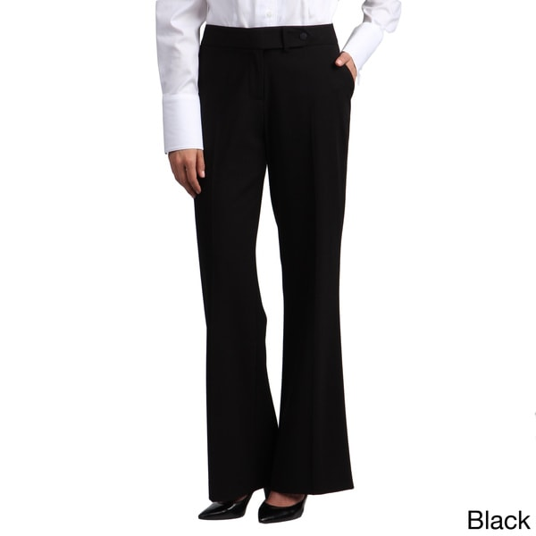 d8868068337dab Shop Calvin Klein Women's Straight Classic Fit Pants - Free Shipping ...