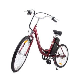 Yukon Trails Navigator Women's Step Thru Urban Street Electric Bike|https://ak1.ostkcdn.com/images/products/8019893/P15382829.jpg?impolicy=medium