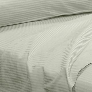 Grand Luxe Amalfi Dobby Stripe Egyptian Cotton 310 Thread Count Deep Pocket Sheet Set