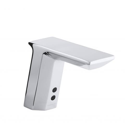 Kohler Geometric Polished Chrome Touchless AC-powered Bathroom Sink Faucet