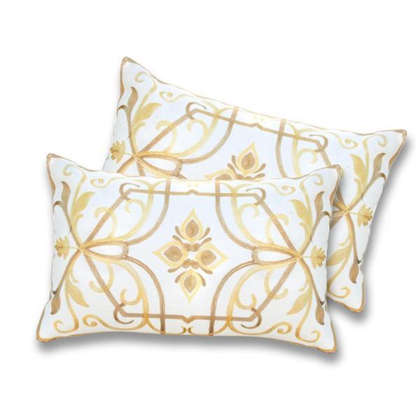 Lush Decor Georgina Lemon Decorative Pillows (Set of 2)