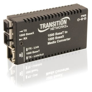 Transition Networks Mini Gigabit Ethernet Media Converter