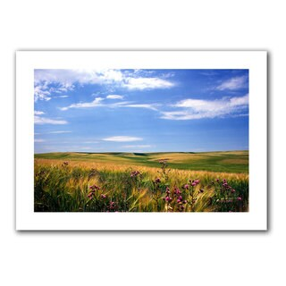 Kathy Yates 'Field of Dreams' Unwrapped Canvas - Multi