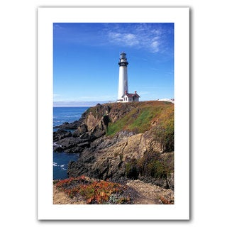 Kathy Yates 'Pigeon Point Lighthouse 2' Unwrapped Canvas