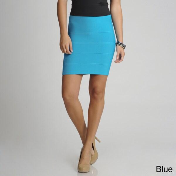 BCBGMAXAZRIA Women's Mini Bandage Skirt