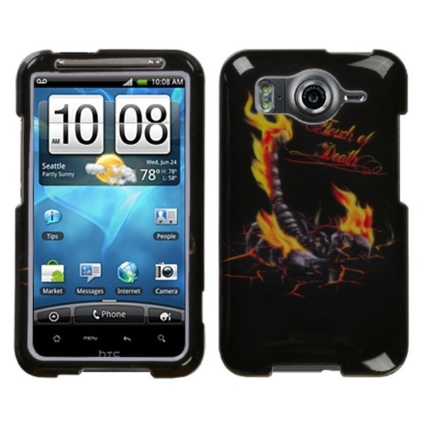 INSTEN Scorpion Phone Case Cover for HTC Inspire 4G