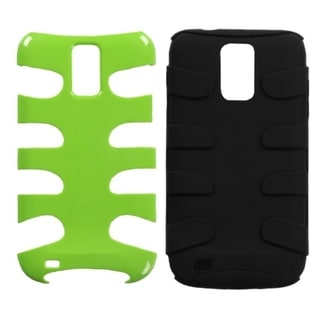 INSTEN Green/ Black Phone Case Cover for Samsung Galaxy S II/ S2 T989 Hercules