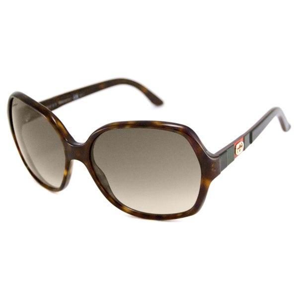 Gucci Women's GG3538 Rectangular Sunglasses