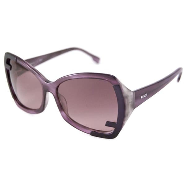 9ddd857c38 Shop Fendi Women s FS5176 Rectangular Sunglasses - Free Shipping Today -  Overstock.com - 8022005