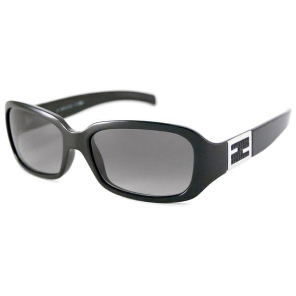 1806f6eb71 Fendi Women  x27 s FS5228R Rectangular Sunglasses with Plastic Temples