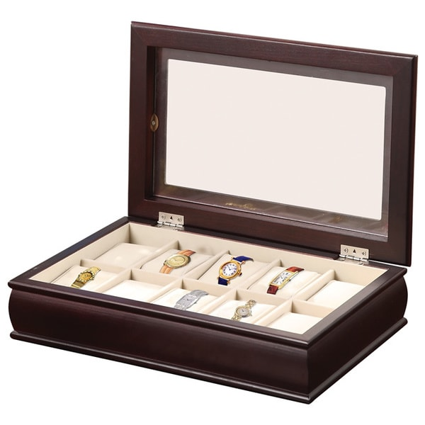Time 10-Watch Storage/Display Box