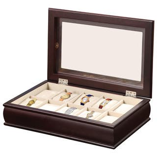 Time 10-Watch Storage/Display Box|https://ak1.ostkcdn.com/images/products/8022049/Time-10-Watch-Storage-Display-Box-P15384577.jpg?impolicy=medium