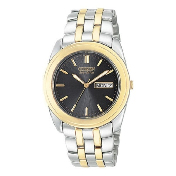 Citizen Men's Eco-Drive Stainless Steel Two-tone Watch