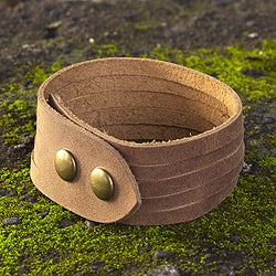 Men's Handcrafted Leather 'Equestrian' Bracelet (Mexico)