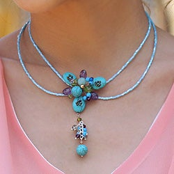 Handcrafted Multi-gemstone 'Sweet Serenade' Choker (Thailand)