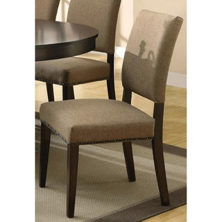 Aloes Nailhead Trim Dining Chairs (Set of 2)