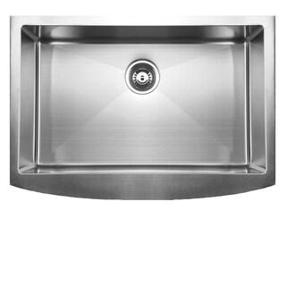 Ukinox RSFC849 Apron Front Single Basin Stainless Steel Undermount Kitchen Sink