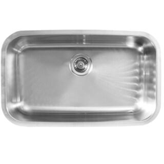 Ukinox D759 Single Basin Stainless Steel Undermount Kitchen Sink