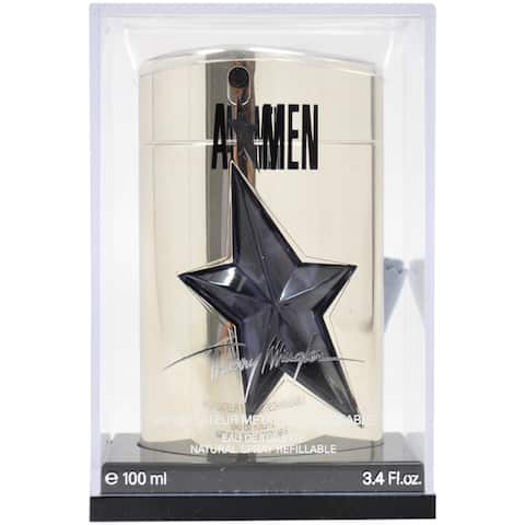 Thierry Mugler 'Angel' Men's 3.4-ounce Eau de Toilette Refillable Spray