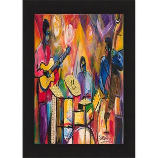 Everett Spruill 'Jazz Trio' Framed Print