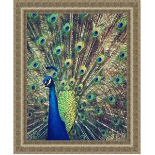 Gail Peck 'Royally Blue I' Framed Print