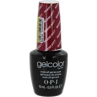 OPI GelColor Miami Beet Soak-Off Gel Lacquer