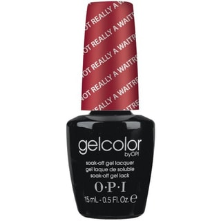 OPI GelColor I'm Not Really A Waitress Soak-Off Gel Lacquer
