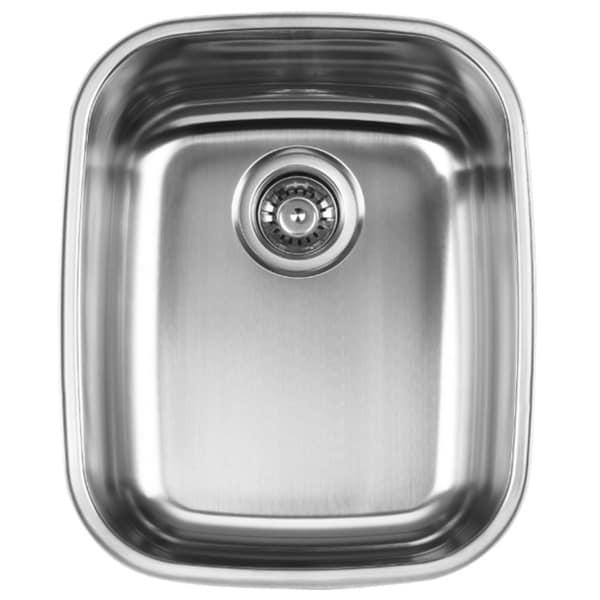 Ukinox D376.10 Single Basin Stainless Steel Undermount Kitchen Sink