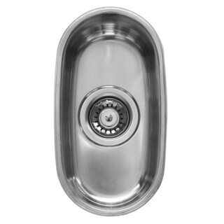 Ukinox D181 Single Basin Stainless Steel Undermount Kitchen Sink
