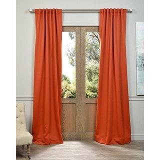 Exclusive Fabrics Blaze Blackout Thermal Curtain Panel Pair