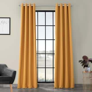 Exclusive Fabrics Marigold Grommet Blackout Thermal Curtain Panel Pair https://ak1.ostkcdn.com/images/products/8024419/P15386497.jpg?impolicy=medium
