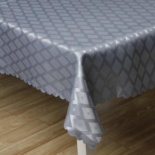 Blue Diamond Damask Tablecloth (57x 38)