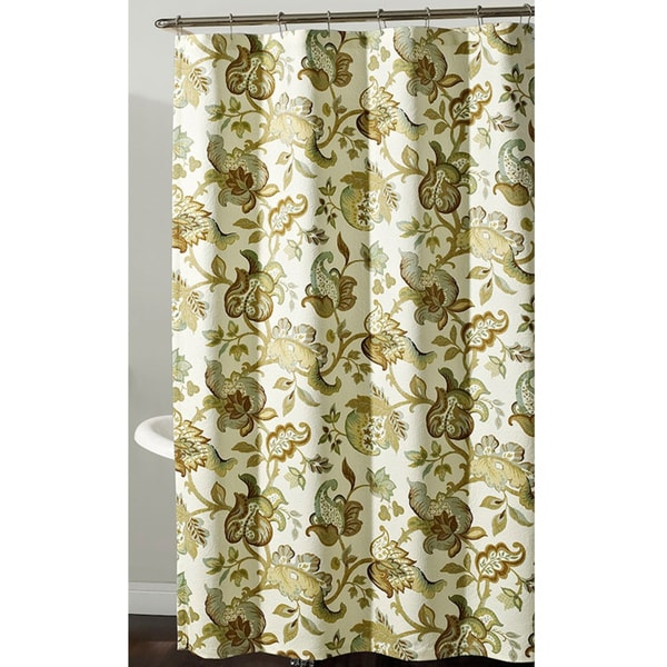 Shop Gabrielle Jacobean Floral Shower Curtain