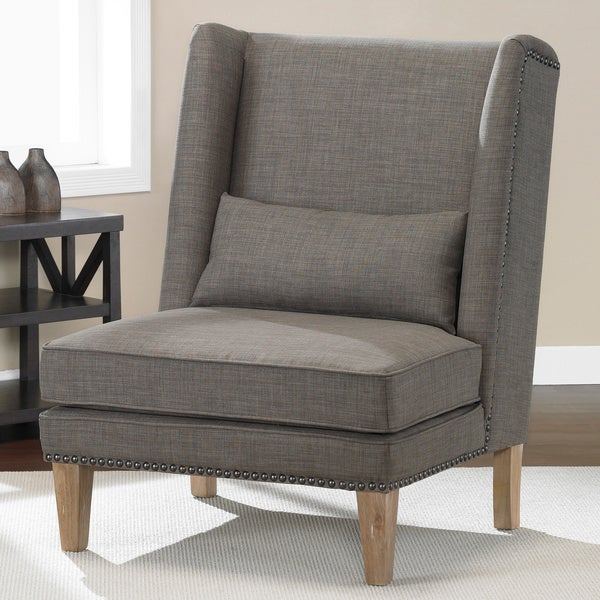Wing Chair Brown Derby