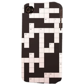 Shop Plastic Crossword Puzzle Dimensional Apple iPhone Case - Free Shipping On Orders Over $45 ...