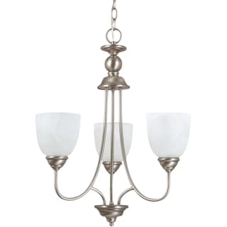 Sea Gull Lighting Lemont 3-light Antique Brushed Nickel Single-tier Chandelier