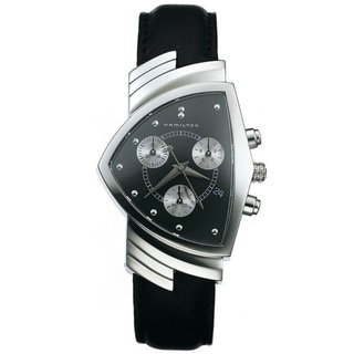Hamilton Men's 'Ventura' Black Dial Watch