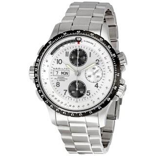 Hamilton Men's 'Khaki X-Wind' Silver Dial Automatic Watch