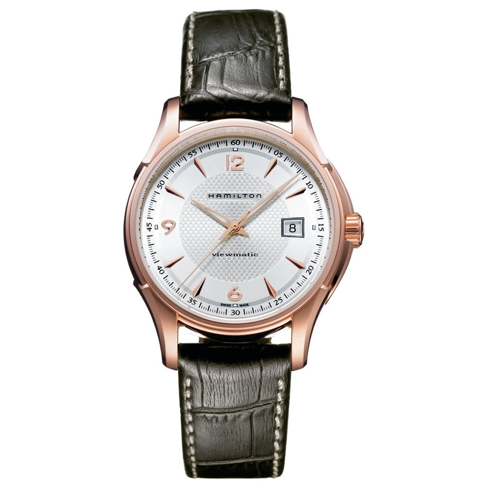 Hamilton Men's 'Jazzmaster Viewmatic' Automatic Watch (Si...