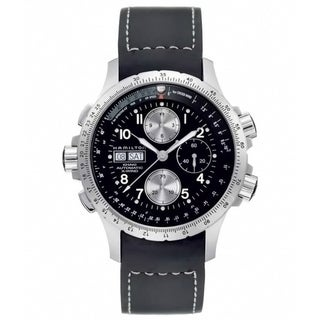 Hamilton Men's 'Khaki X-Wind' Automatic Black Dial Watch