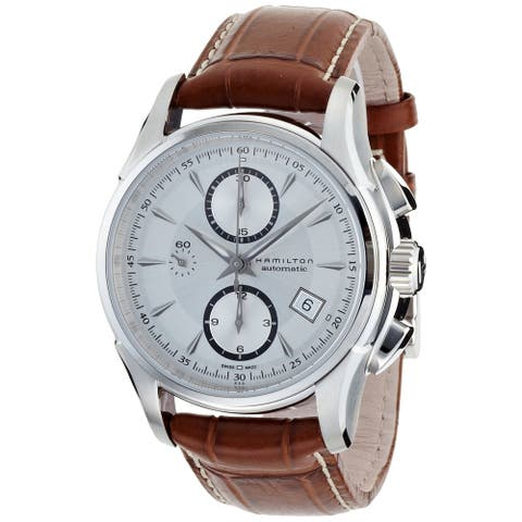 Hamilton Men's 'Jazzmaster Maestro' Automatic Watch - brown