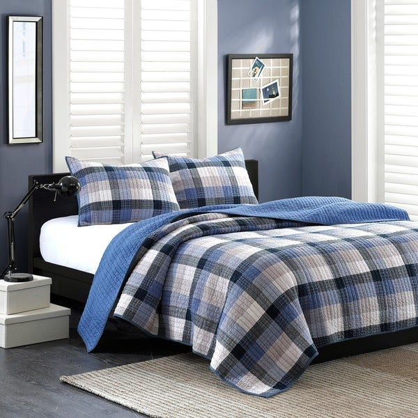 Ink+Ivy Maddox 3-piece Quilt Set - Free Shipping Today - Overstock ... : overstock quilt - Adamdwight.com