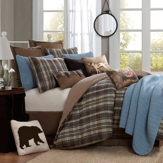 Woolrich Hadley Plaid 4-piece Comforter Set