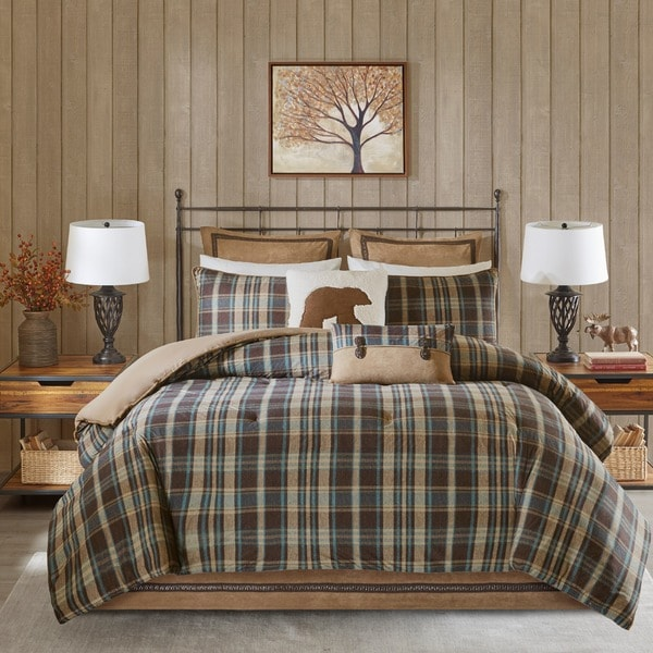 Woolrich Hadley Plaid Multi Comforter Mini Set - Free Shipping On ... : woolrich quilted blanket - Adamdwight.com
