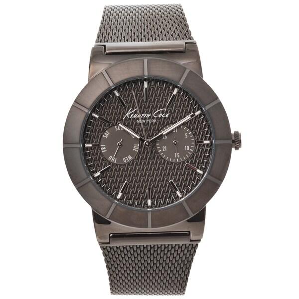 Kenneth Cole New York Men's Gunmetal Mesh Strap Watch