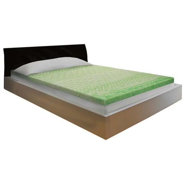 Comfort Dreams Lifestyle Collection Relief 3-inch Gel Infused Memory Foam Topper