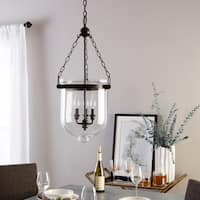 Sea Gull Lighting Autumn Bronze Glass/Metal/Steel 3-light Pendant
